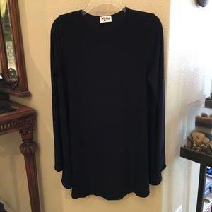 SHOW ME YOUR MUMU Black Tyler Tunic Dress Medium